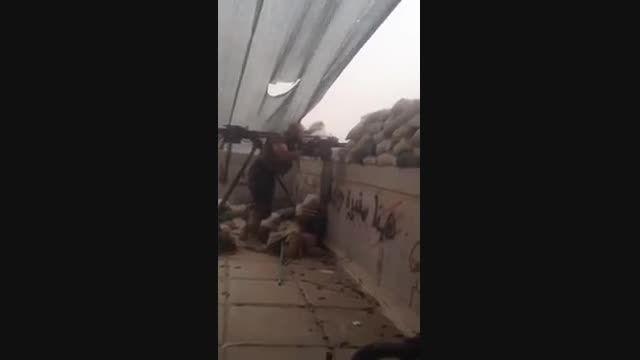 حملات شدید ابوعزرائیل و کتائب امام علی (ع) به داعش