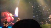 اجرای آهنگ امشب تولد منه در کنسرت بنیامین در تهران