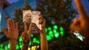 شادی ایران پس از 19 میلیون رای به حسن روحانی