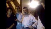 فیلم منتشر نشده احمدی نژاد چندساعت پس ازاتمام ریاست جمهوری-3