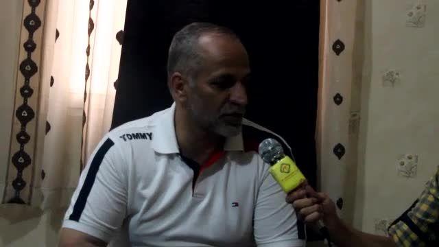مصاحبه سید مهدی ابطحی و مربی دروازه بانان و دکتر تیم