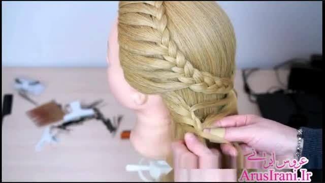 آموزش کامل مدل مو 15 - بافت پروانه ای مو