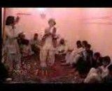 رقص جوان بلوچ در بزم شبانه