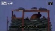 زدن سرباز عراقی توسط داعش