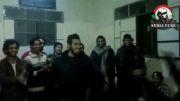 رقاصی و هلهله مزدوران جنایت کار داعش در سوریه