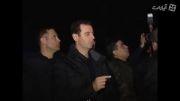 دیدار بشار اسد با رزمندگان در خط مقدم جبهه