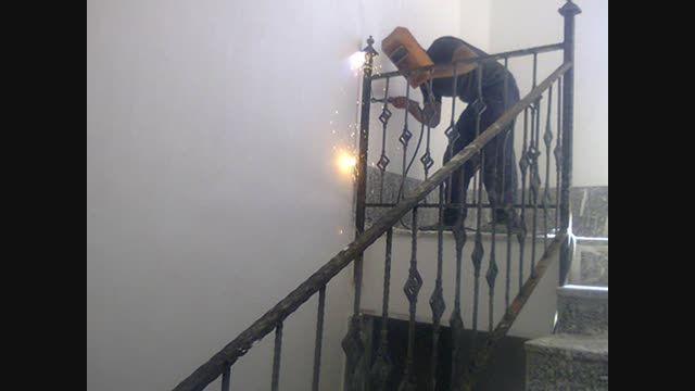 اموزش اصولی نصب نرده حفاظ انواع پله