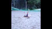 ضایع شدن دختر والیبالیست