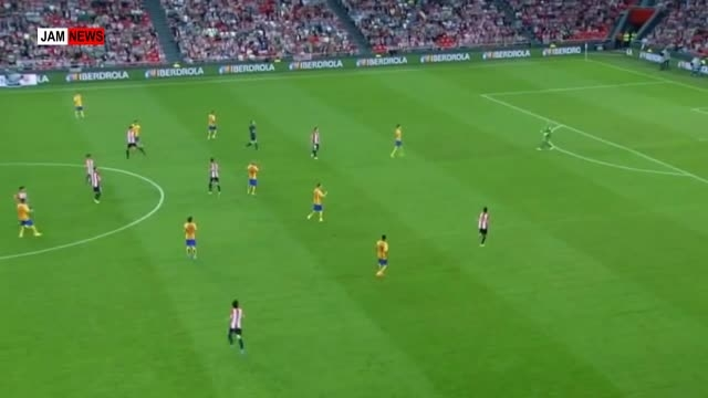 گل بازیکن اتلتیک بیلبائو از میانه های میدان به بارسلونا