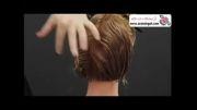 آموزش هیرکات زنانه مدل موی ویکتوریا بکهام