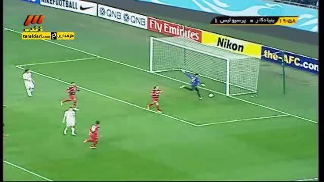گل بازی بنیادکار 0-1 پرسپولیس