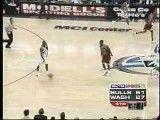بلاک استثنایی مایکل جردن بسکتبال