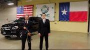 بارش گلوله AK-47 بر روی یک خودروی ضدگلوله چگونه است؟