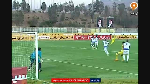 نفت تهران 1 - 1 ملوان (گل سید جلال حسینی)