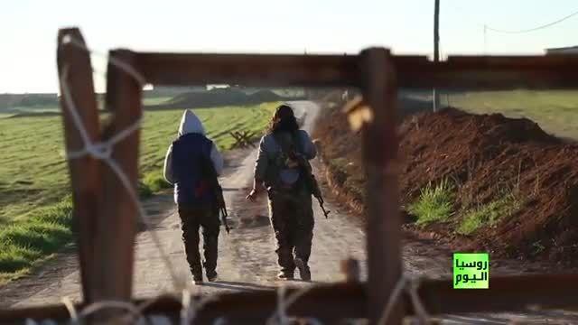 مستند شبکه RT  درباره مبارزه زنان با داعش