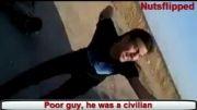 سوریه - کشتن چند اسیر نظامی و غیر نظامی توسط تروریست های القاعده !!!!