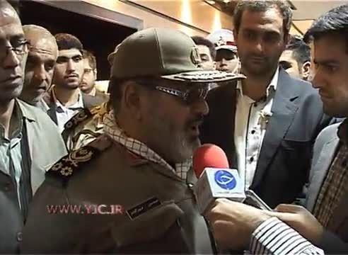 خط و نشان سرلشکر فیروز آبادی برای داعش