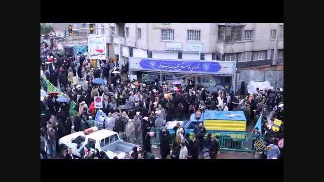 راهپیمایی سالروز پیروزی انقلاب اسلامی