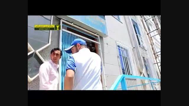 حضور سید مهدی رحمتی در باشگاه استقلال برای عقد قرارداد