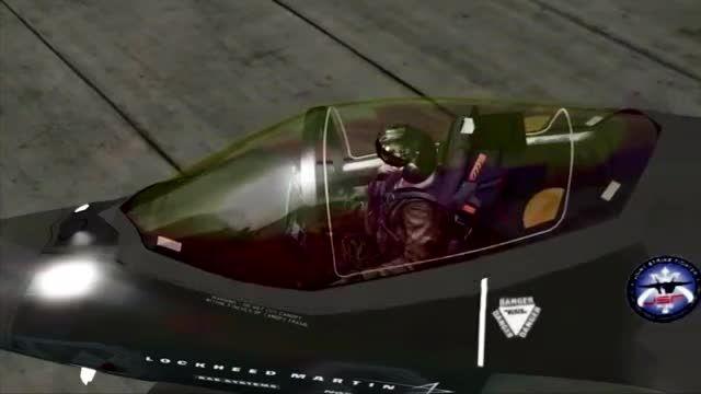 نخستین تصاویر از جنگنده F-35  در شبیه ساز الماس