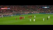 گل دوم رونالدو؛بایرن-رئال (لیگ قهرمانان اروپا)