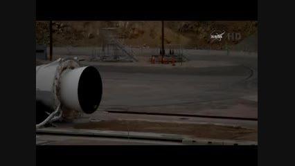 تست موتور فضاپیما توسط ناسا