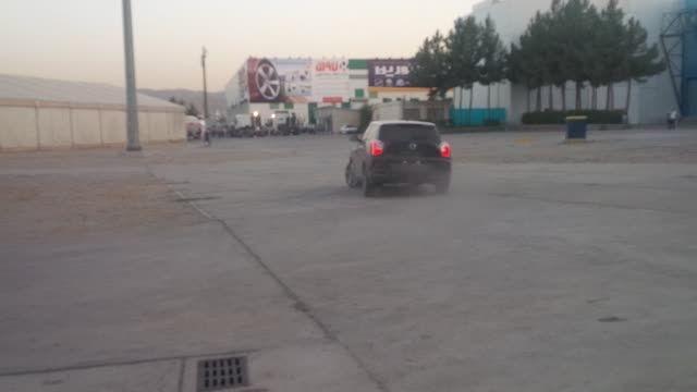 تیوولی سانگ یانگ در محوطه نمایشگاه خودرو مشهد- مرداد 94