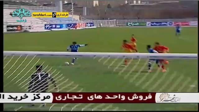 گل های بازی گسترش فولاد تبریز 3-1 فولاد خوزستان