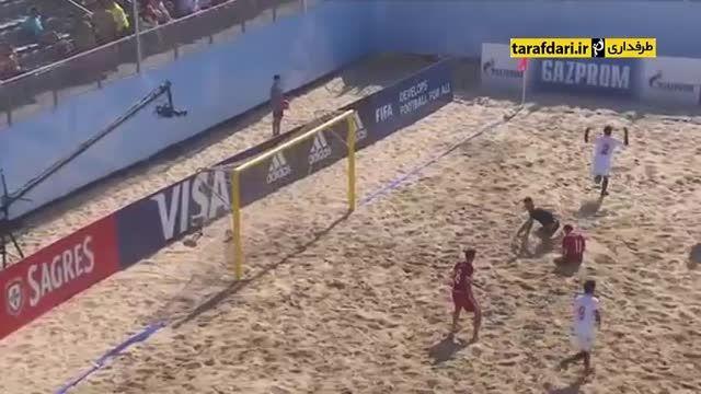 سوئیس 5-2 عمان (جام جهانی فوتبال ساحلی)