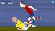 شکست  اسپانیا جام کنفدراسیون ها