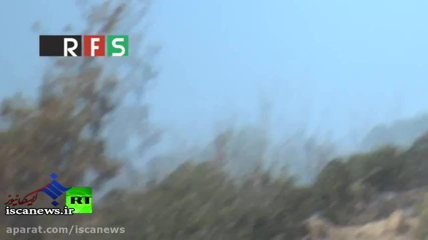 تصاویر جدید سقوط هواپیمای سوخو24 روسیه توسط ترکیه