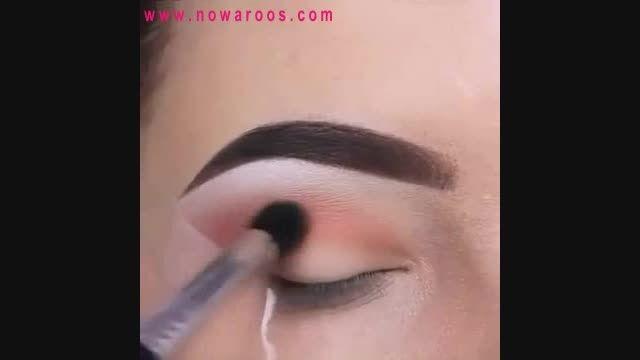 انجمن های نوعروس : آموزش آرایش صورتی برای چشم های سبز