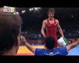 کسب مدال طلای رقابتهای کشتی فرنگی ، وزن 55 کیلو توسط حمید سوریان