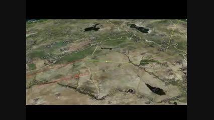 شلیک موشک های کروز روسیه از دریای خزر به سوریه