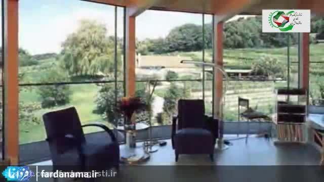 اولین خانه  دوار با حرکت خورشید و بدون مصرف انرژی
