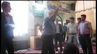 اعتراض اعضای تعاونی مسکن مهر شهر میانه 2 شهریور ماه 94