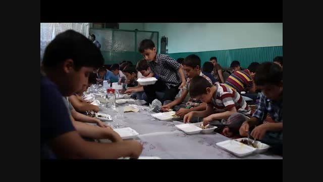 طرح محسنین کمیته امداد - غذا برای مادر