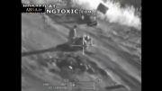شکار تروریست های داعش در حال بمب گذاری