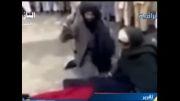 شلاق زنان مسلمان در ملا عام توسط داعش