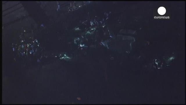 تصاویری از حادثه قطار مسافربری در آمریکا