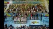کاپ طلای جام جهانی 2014 در بالای سر آلمانها