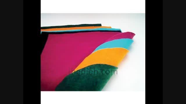 نمد / پارچه نمدی در رنگ ها و کاربردهای مختلف