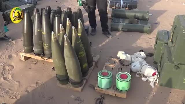 حملات توپخانه ای گردان علی اکبر (ع) به دواعش در بیجی