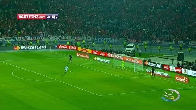 کناره گیری مسی از تیم ملی آرزانتین