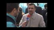 احمدی نژاد-تهران-خ آزادی-22بهمن92