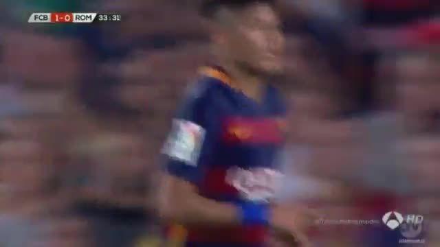 مسی درگیری مسی با بازیکن روم