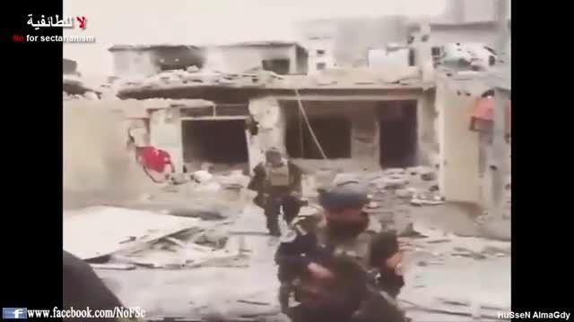 الرمادی - نبرد نیروهای ذهبیه با تکفیری های داعش