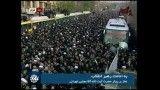 حضور رهبر انقلاب در مراسم تشییع آیت