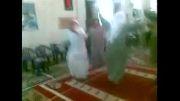 رقص و آواز مردم موصل در مسجد برای تصرف شهر توسط داعش