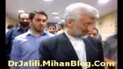کلیپ اختصاصی ستاد شهر قدس : حضور دکتر سعید جلیلی در جبهه پایداری تهران - 9